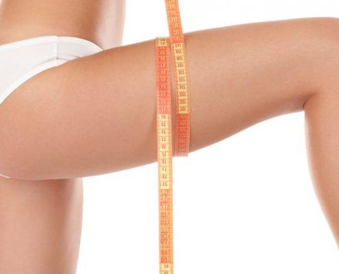 Lipomatous thighs